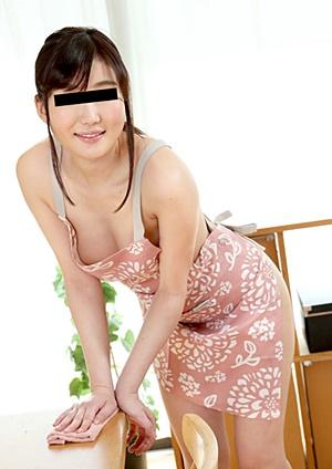 Pacopacomama 091921_534 裸エプロンが似合うプリケツ熟女