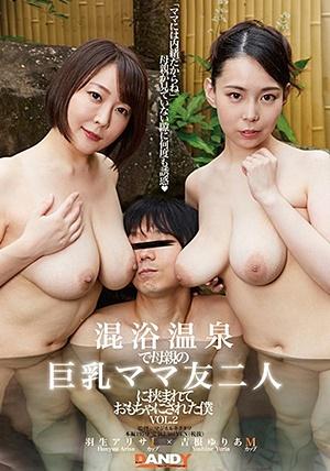 DANDY-733 混浴温泉で母親の巨乳ママ友二人に挟まれておもちゃにされた僕 VOL.2