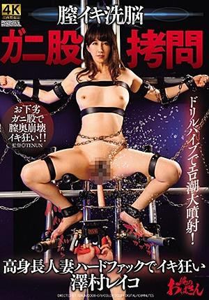 DDOB-078 膣イキ洗脳 ガニ股拷問 高身長人妻ハードファックでイキ狂い 澤村レイコ